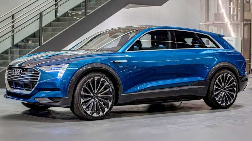luxury electric cars 2020