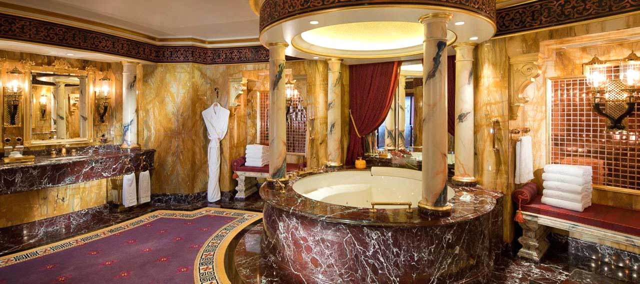 most expensive shower in the world