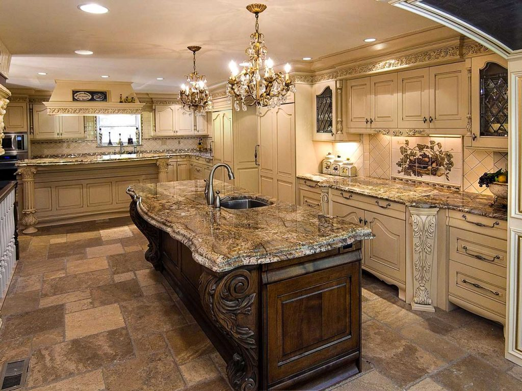 luxury kitchen design ideas 2021