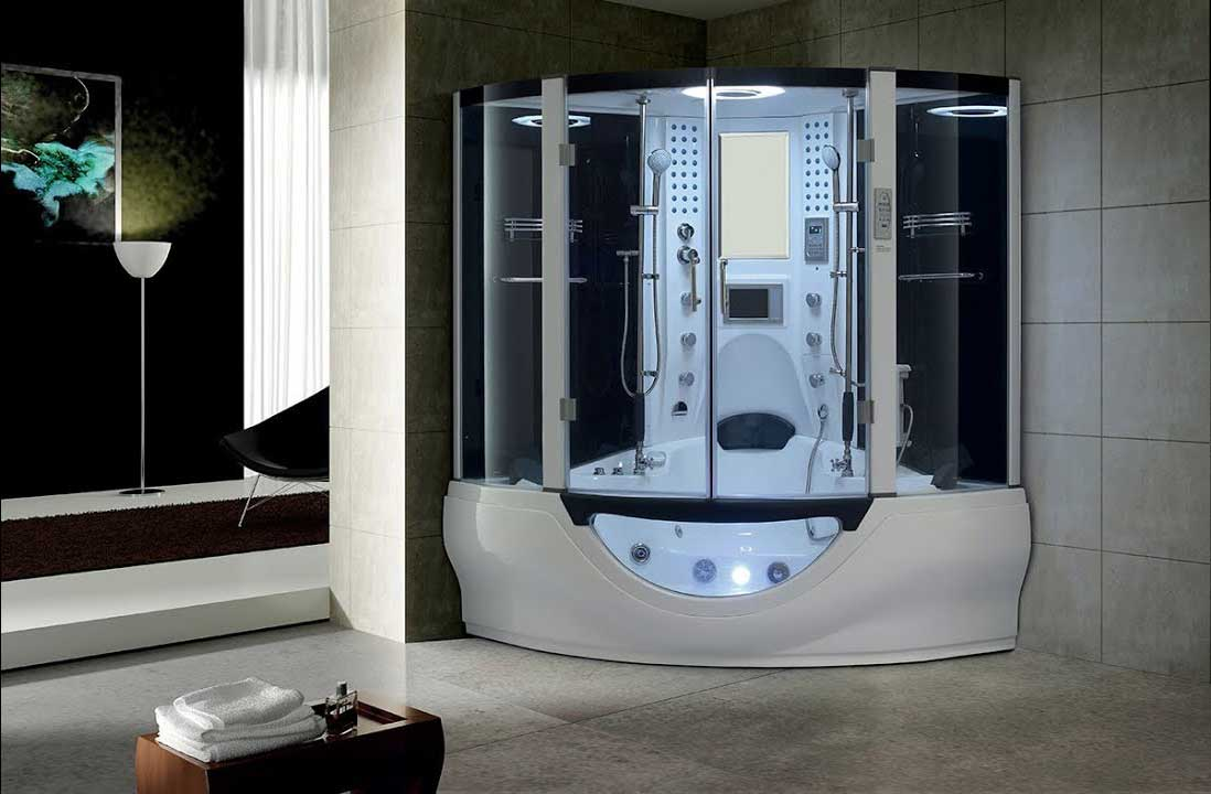 luxurious showers in the world