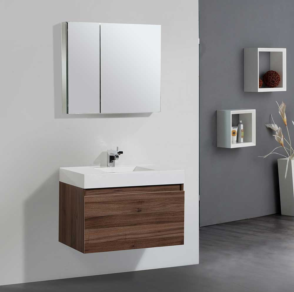 redesign a small bathroom 2020 - floating sink