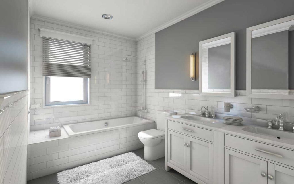 redesign a small bathroom 2020