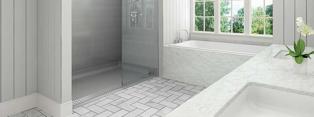 redesign a small bathroom 2020 - skip shower door