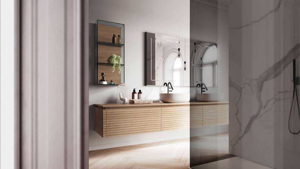 redesign a small bathroom 2020 - furniture