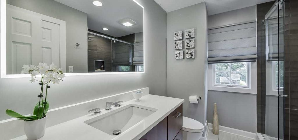 redesign a small bathroom 2020 - mirror
