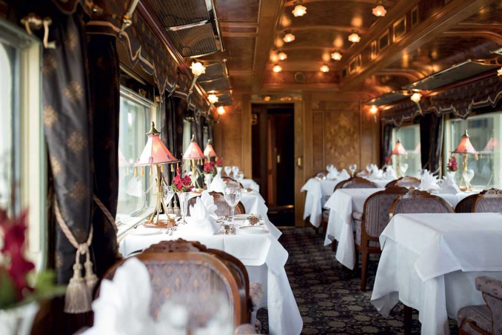 most luxurious train in the world 2020