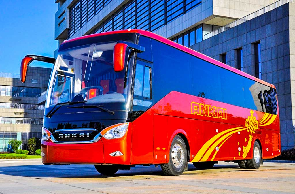 luxury bus manufacturers 2020