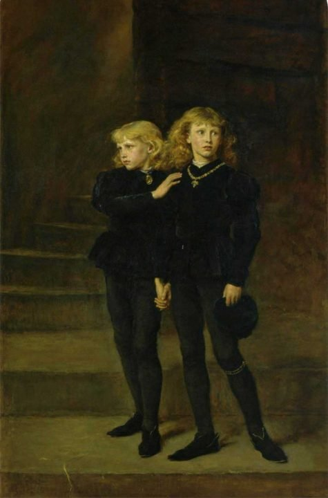 Life of the British Royal Family King Edward V and his brother