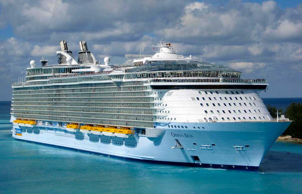 biggest cruise ship in the world 2021