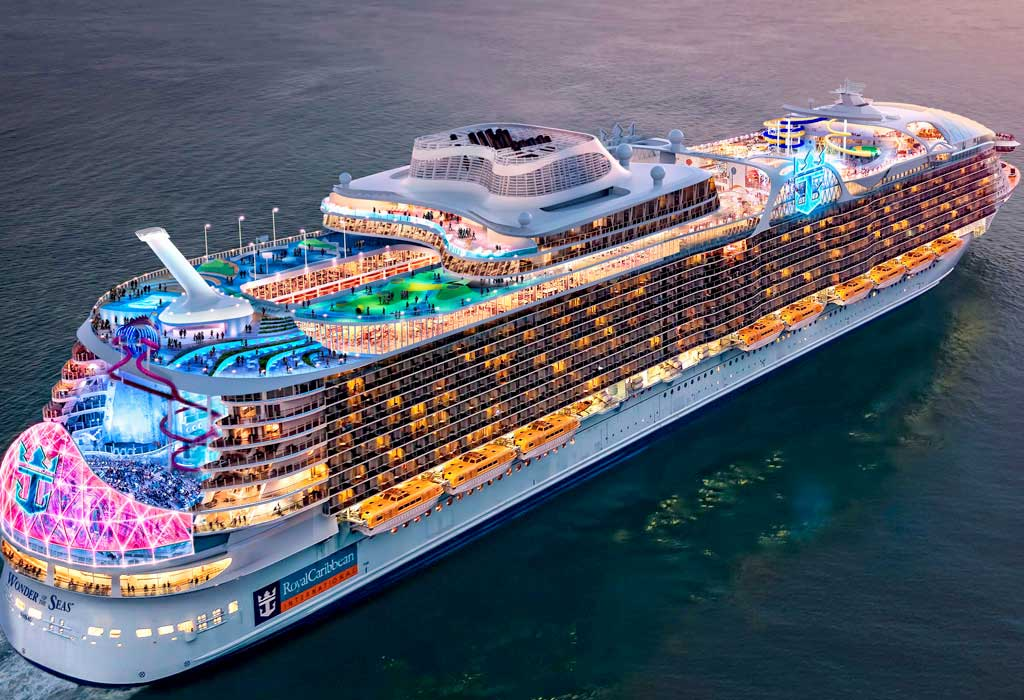 largest ship in the world 2020