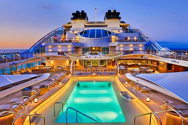 most luxurious cruise ship in the world 2021