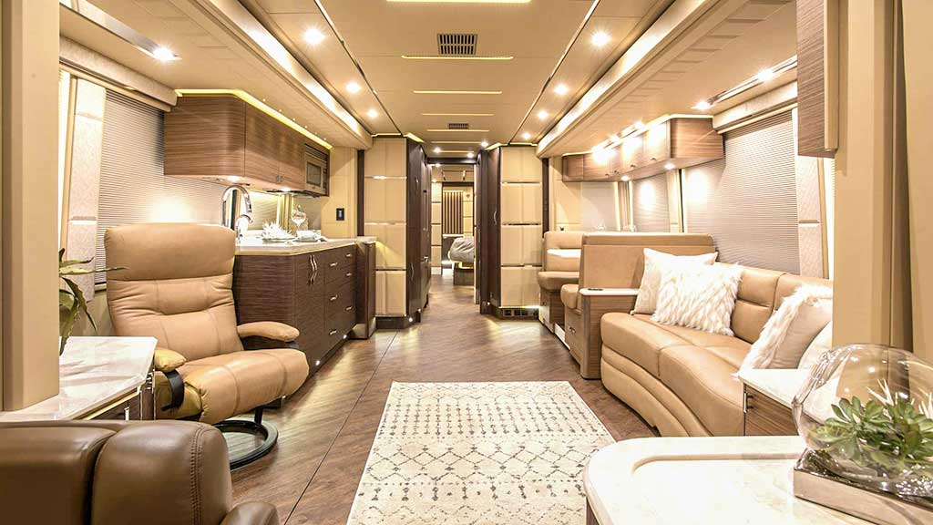 luxury bus in the world 2021