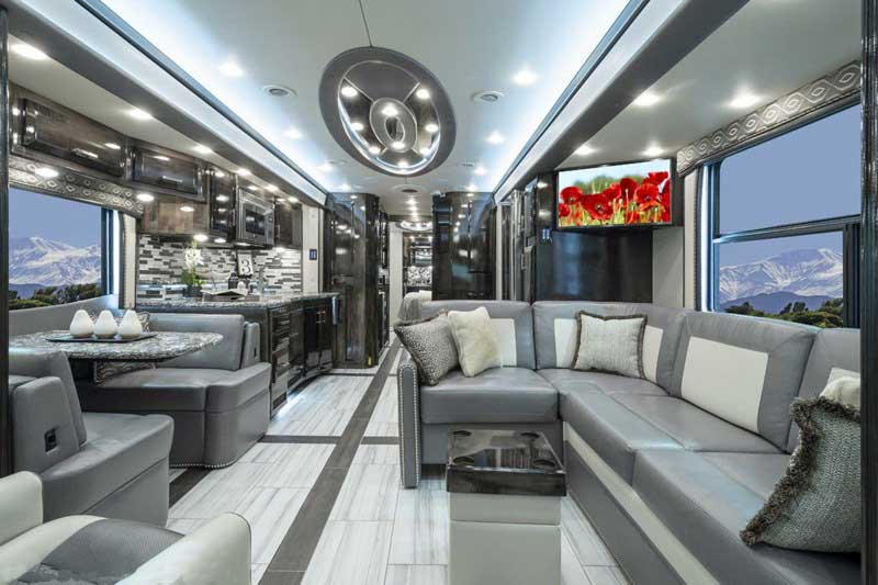 luxury bus in the world 2020