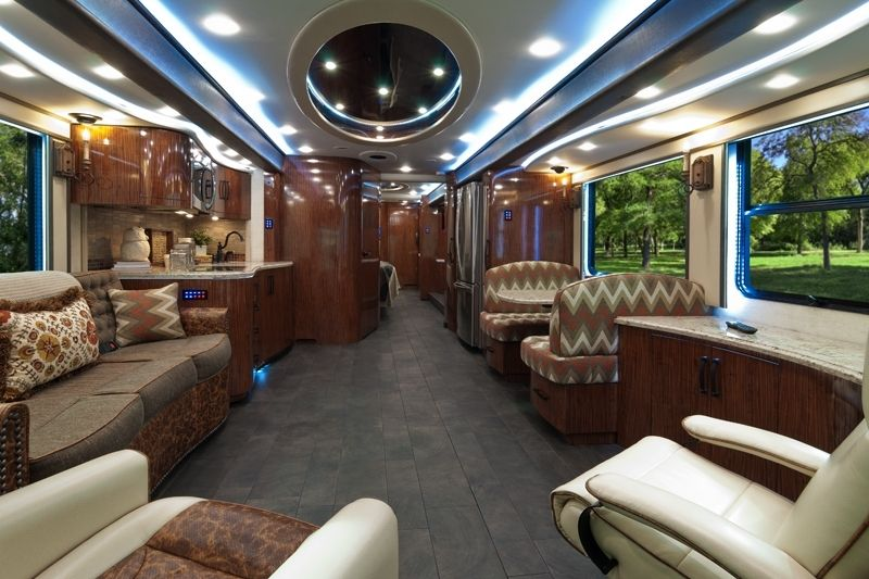 Expensive Luxury Buses in the World - Foretravel IH - 45