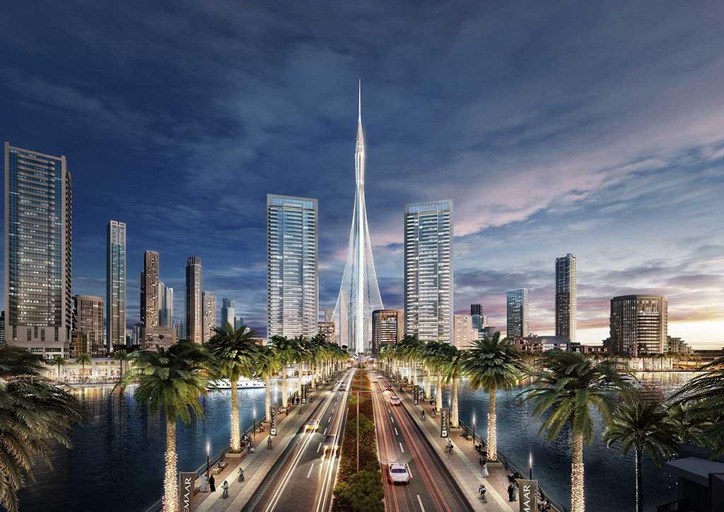 Dubai luxury Lifestyle: Creek Tower