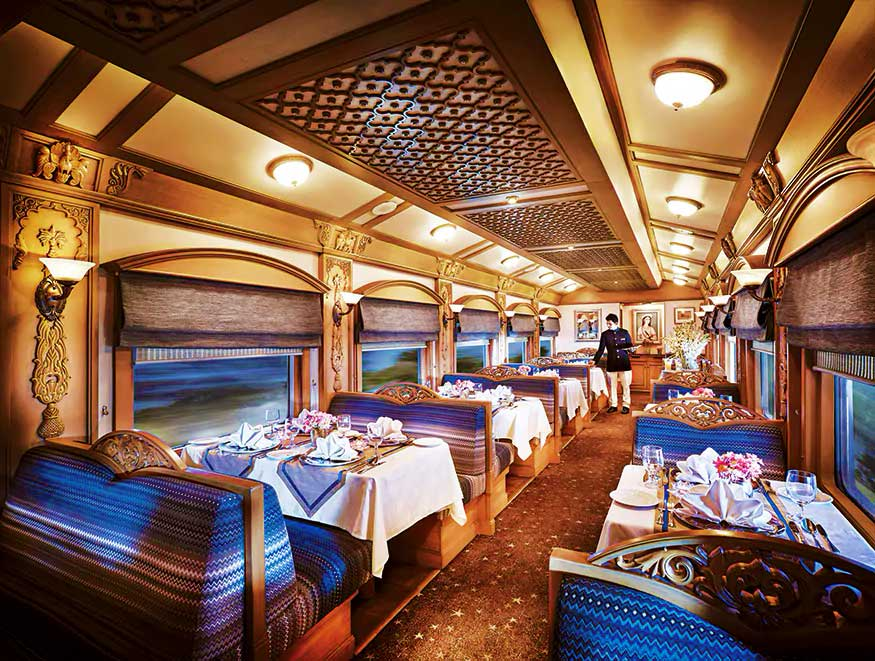 luxurious train in the world 2020