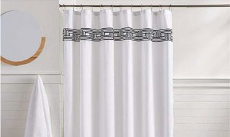 luxurious shower curtains