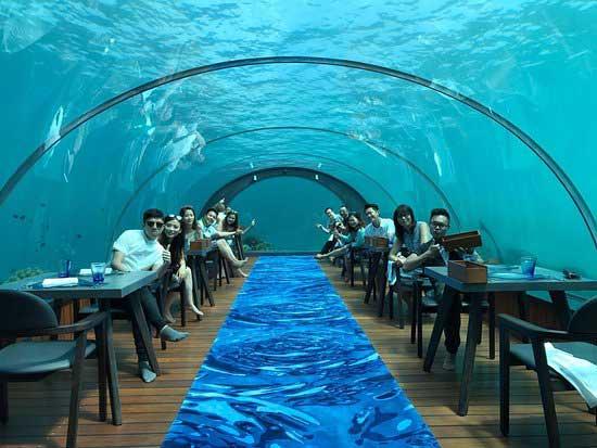 Why tourists visit Maldives?